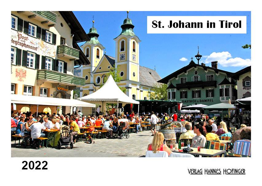 Kalender St. Johann in Tirol 2022